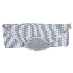 Kissy Kissy Baby Essentials Striped Receiving Blanket-Gray-O