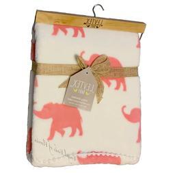 Levtex Baby Everett Grey Woodland Deer Plush Blanket