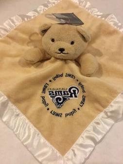 Baby Fanatic NFL Football LA Rams Tan Brown Bear Security Bl