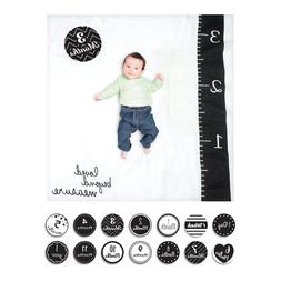Lulujo Baby's First Year Loved Beyond Measure Blanket and Ca