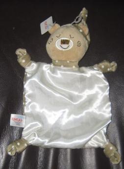 Baby Gund Forest Friends Baxley Bear Security Satin Blanket