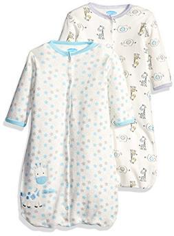 BON BEBE Baby Best Friends Assorted 2 Pack Wearable Blanket,