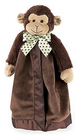 Bearington Baby Giggles Snuggler, Brown Monkey Plush Stuffed