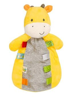 Taggies Baby Giraffe Plush Security Blanket by Taggies - Yel