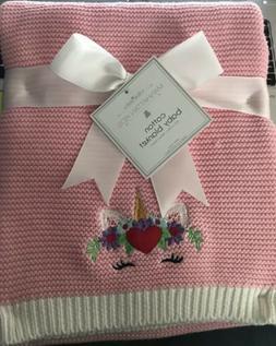 baby girl blanket with unicorn