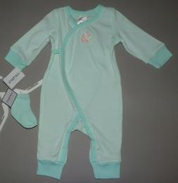 Baby girl clothes, 6 months, Carter's 2 piece jumpsuit set/S