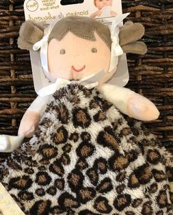 Blankets and Beyond Baby Doll Leopard Animal Print Security