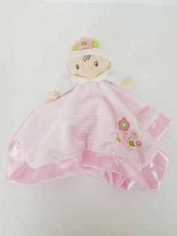 Douglas Baby Girl Doll Pink Security Blanket Lovey Stripes F