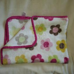 Lollypop Baby Girl Pink Brown Yellow Green Plush Fleece Flow