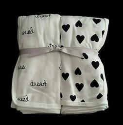 Carter's Baby Girls' 2-Pk. Babysoft Swaddle Blankets None