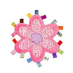 INCHANT Colorful Taggy Security Blanket - Keepsake Newborn B