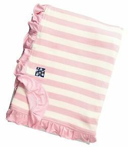 Kickee Pants Baby Girls' Essentials Print Ruffle Stroller Bl