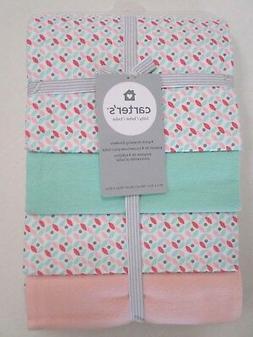 Carter's® Baby Girls' 4-Pack Geo Receiving Blankets