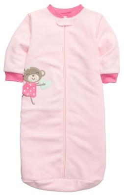 Carter's Baby Girls' Micro Sleepbag - Girls Monkey - 0-9 Mon