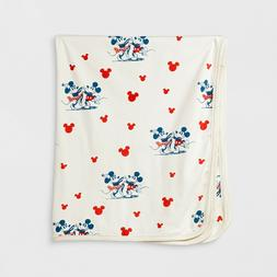 Junk Food Baby Girls' Minnie Mouse Print Blanket White Size: