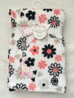 Baby Girls Plush Blanket Shower Gift Infant Blankie, Giraffe
