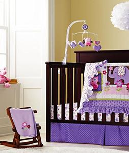 Baby S Purple Owl Crib