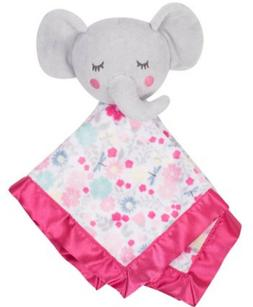 BABY GIRLS SECURITY BLANKET BUDDY LUVIE PARENTS CHOICE ELEPH