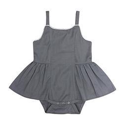 Kate Quinn Organics Baby Girls Vintage Balerine Bubble Dress