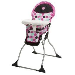 Baby High Chair Feeding Booster Folding Fold Girl Pink Infan