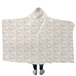 VOUCHERS Baby Hooded Blanket,Ivory,Blankets Made from Our Be