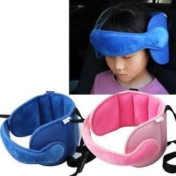 Kids Child Head Neck Support Car Seat Belt Safety Headrest P