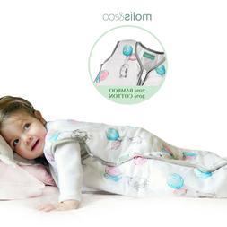 Baby Kids Sleep Sack Winter Wearable Blanket Bamboo Cotton M
