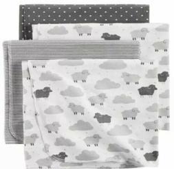 Carter's® Baby 4-Pack Baby Lamb Receiving Blankets