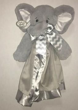 Bearington Baby Lil' Spout Snuggler, Gray Elephant Plush Stu