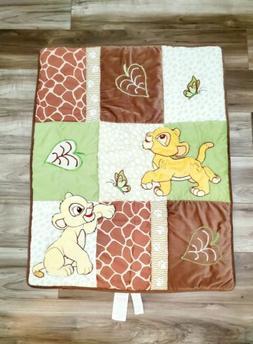 Disney Baby Lion King Nursery Crib Bedding Comforter Blanket