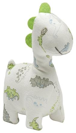 Gund Baby Little Me Rattle Plush Toy, Tiny Dinos Baby, 5 inc