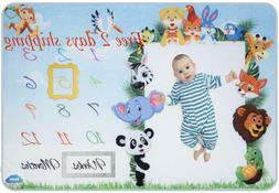 Baby Milestone Blanket for Boys and Girls – 100% Polyester
