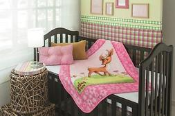 Baby Mink - Ultra Soft Plush Fleece Blanket Dainty Deer