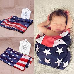 Baby Muslin Soft Swaddling Blanket Newborn Photo Photography