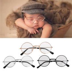 Baby Newborn Boy Girl Flat Glasses Props Photography Gentlem