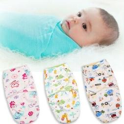 Infant Newborn Baby Swaddle Wrap Bedding Blanket Cotton Slee