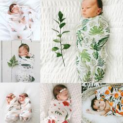 Baby Newborn Ruffle Swaddle Wrap Lace Blanket Stretch Photog