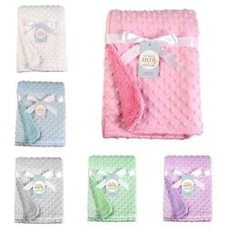 baby newborn soft fleece blanket pram crib