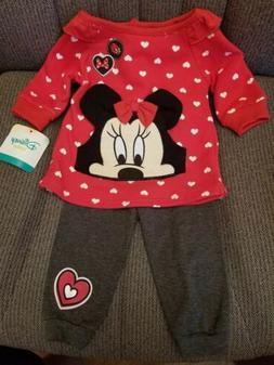 Disney Baby Outfit, New Size 0-3 Months. New with tags 2 pie