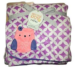 Baby Owl Valboa Blanket with Satin Piping Just One You Made