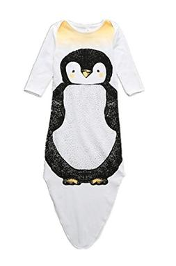 luyusbaby Baby Pajamas Cotton Summer Mermaid Wearable Blanke