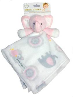 Blankets and Beyond Baby Plush Elephant Security Blanket Pin