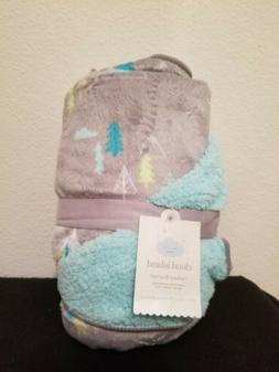 Cloud Island Baby Plush Velboa Blanket 30 X 40 Adventure Awa