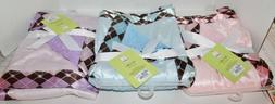 SILVER ONE BABY REVERSIBLE BABY BLANKET - SUPER SOFT - Choic