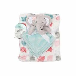 Baby's First by Nemcor 2 Piece Blanket and Buddy Set, Girl E