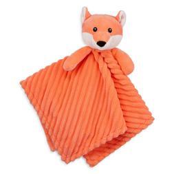 Okie Dokie Baby Security Blanket Fox, Orange, Shower Gift, B