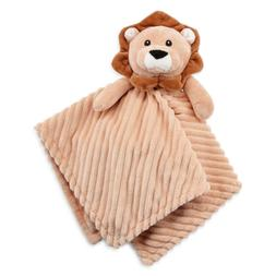Okie Dokie Baby Security Blanket Lion, Brown, Shower Gift, B