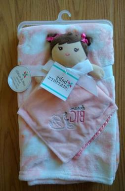 Baby Starters Baby Security Blanket Set Doll Swans Peach Lov