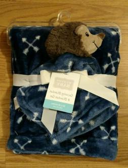 HUDSON BABY Baby Security Blanket Set Hedgehog Porcupine Boy