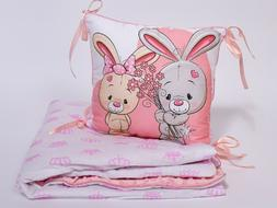 Toddler Pillow and Blanket for Kids Sleeping Bedding Set for